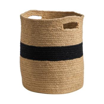 13.5 Handmade Natural Cotton Basket - SKU #0323-S1