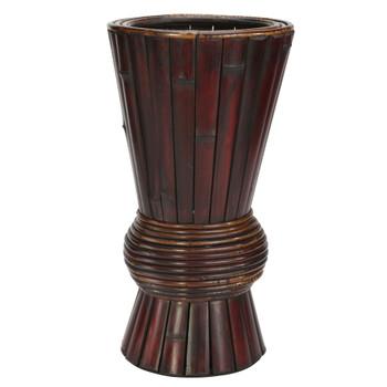 Bamboo Decorative Planter - SKU #0503