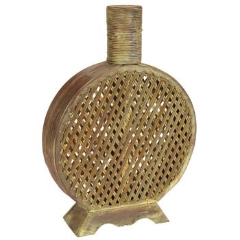 Open Weave Decorative Vase - SKU #0524