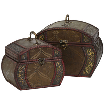 Decorative Chests Set of 2 - SKU #0528