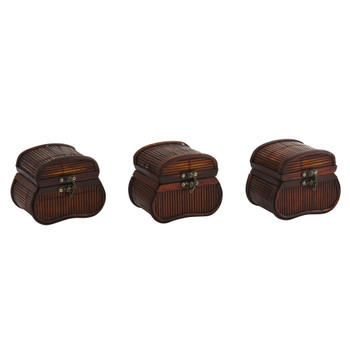 Bamboo Chests Set of 3 - SKU #0544-S3
