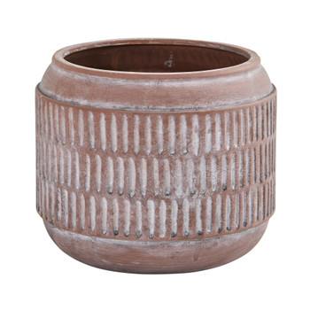 8 Boho Chic Ceramic Embossed Planter - SKU #0757-S1
