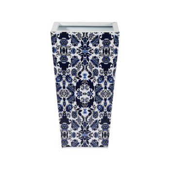 18 Oriental Blue and White Classic Metal Planter - SKU #0831-S1