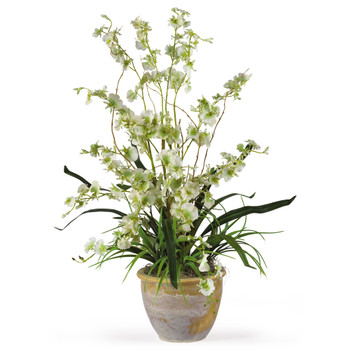 Dancing Lady Silk Orchid Arrangement - SKU #1005-GR