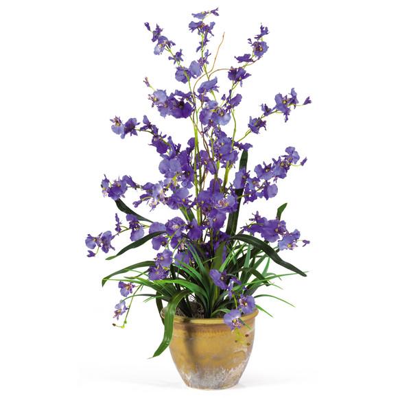 Dancing Lady Silk Orchid Arrangement - SKU #1005 - 1