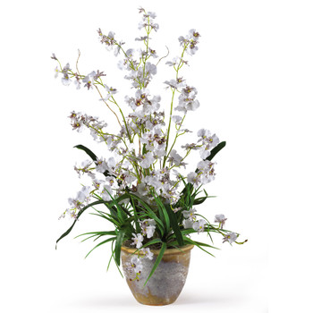 Dancing Lady Silk Orchid Arrangement - SKU #1005