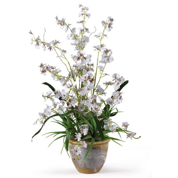 Dancing Lady Silk Orchid Arrangement - SKU #1005