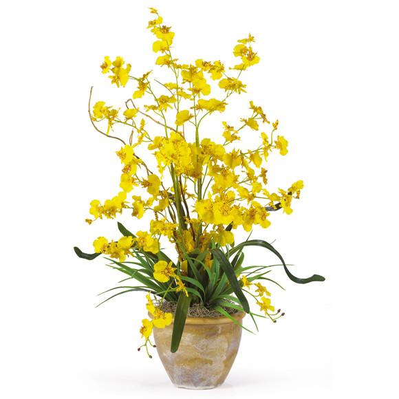 Dancing Lady Silk Orchid Arrangement - SKU #1005 - 2