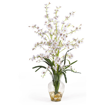 Dancing Lady Liquid Illusion Silk Flower Arrangement - SKU #1073