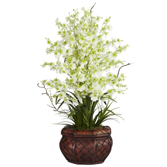 Dancing Lady Silk Flower Arrangement - SKU #1207 - 3