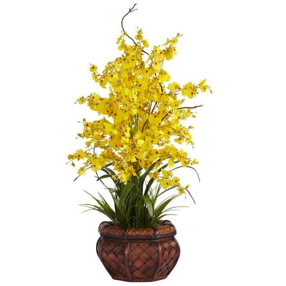 Dancing Lady Silk Flower Arrangement - SKU #1207 - 2
