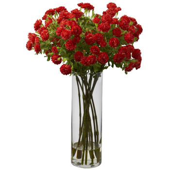 Japanese Silk Flower Arrangement - SKU #1216-BO