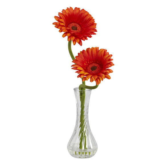 Gerber Daisy w/Bud Vase Set of 3 - SKU #1248-S3 - 1