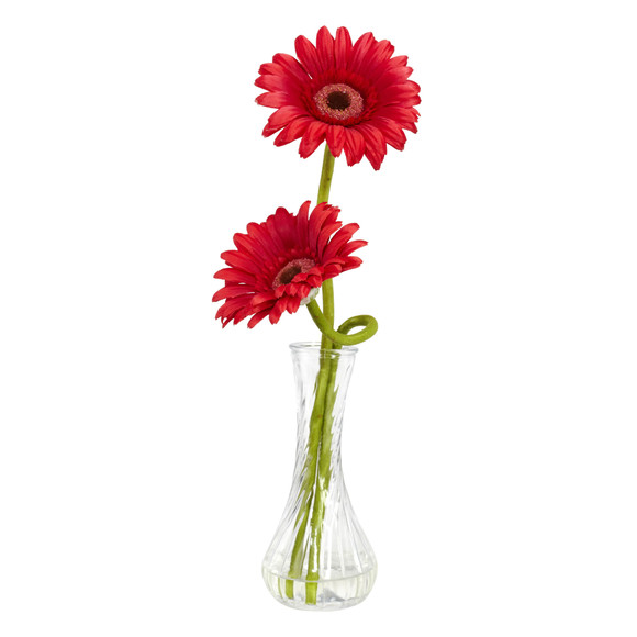 Gerber Daisy w/Bud Vase Set of 3 - SKU #1248-S3 - 3