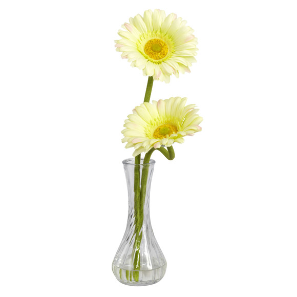 Gerber Daisy w/Bud Vase Set of 3 - SKU #1248-S3 - 5