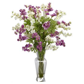Dancing Daisy Silk Flower Arrangement - SKU #1253-AS