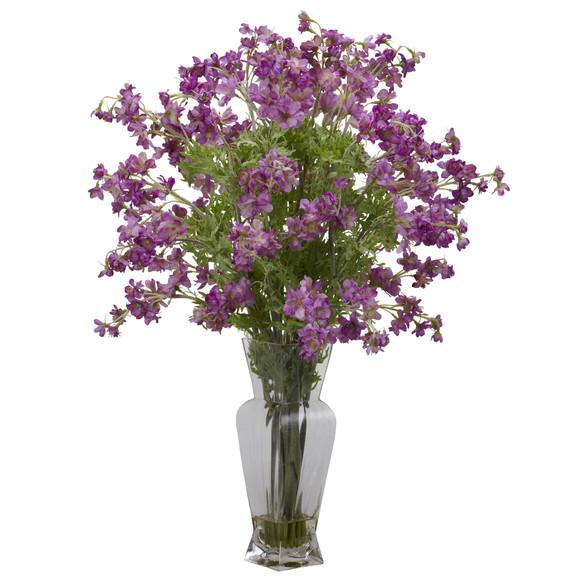 Dancing Daisy Silk Flower Arrangement - SKU #1253 - 1
