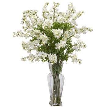 Dancing Daisy Silk Flower Arrangement - SKU #1253