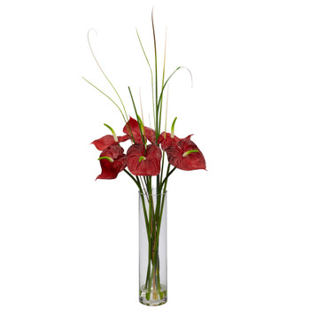 Tropical Anthirum w/Cylinder Arrangement - SKU #1290