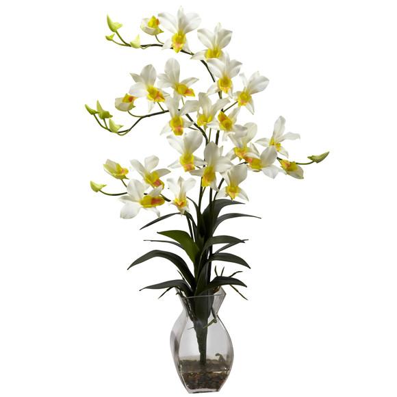 Dendrobium Orchid w/Vase Arrangement - SKU #1292 - 2