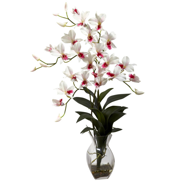 Dendrobium Orchid w/Vase Arrangement - SKU #1292