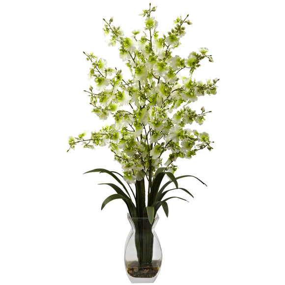 Dancing Lady Orchid w/Vase Arrangement - SKU #1294 - 3
