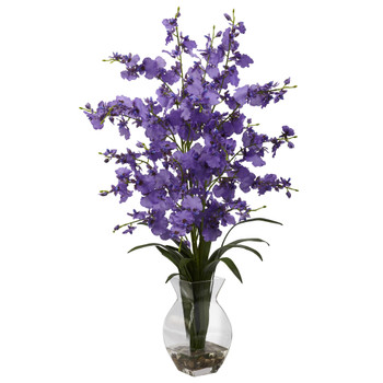Dancing Lady Orchid w/Vase Arrangement - SKU #1294
