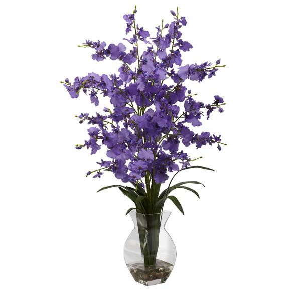 Dancing Lady Orchid w/Vase Arrangement - SKU #1294 - 1