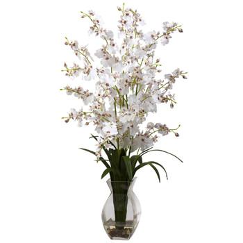 Dancing Lady Orchid w/Vase Arrangement - SKU #1294