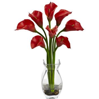 Classic Calla Lily Arrangement - SKU #1296