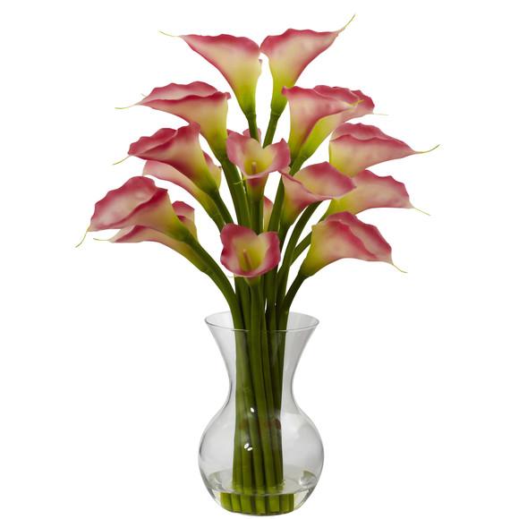 Galla Calla Lily w/Vase Arrangement - SKU #1299 - 1