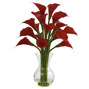 Galla Calla Lily w/Vase Arrangement - SKU #1299