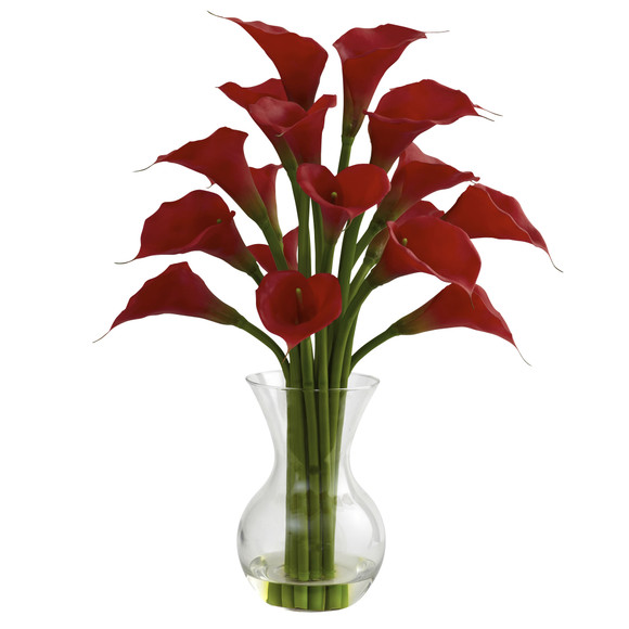 Galla Calla Lily w/Vase Arrangement - SKU #1299