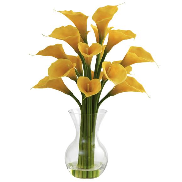 Galla Calla Lily w/Vase Arrangement - SKU #1299 - 2