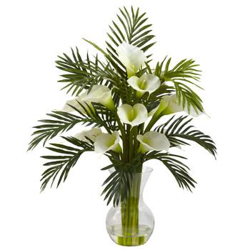 Calla Lily Palm Combo - SKU #1301-CR