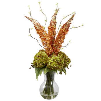 Fancy Foxtail Hydrangea Arrangement - SKU #1302