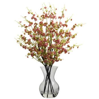 Cherry Blossoms w/Vase Arrangement - SKU #1315-PK
