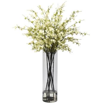 Giant Cherry Blossom Arrangement - SKU #1316-WH