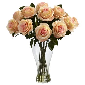 Blooming Roses w/Vase - SKU #1328-PH