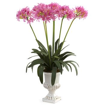 African Lily w/Urn - SKU #1332