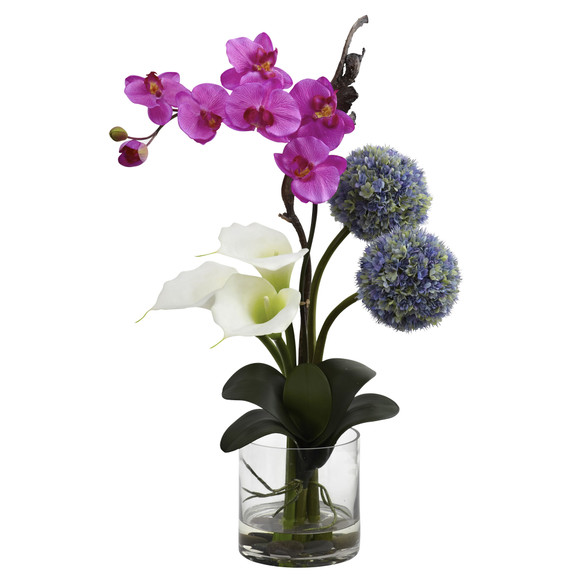 Calla Orchid Ball flower Arrangement - SKU #1334