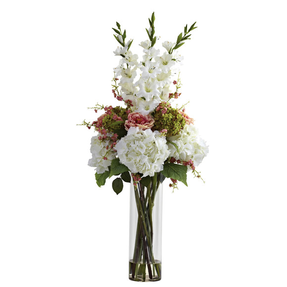 Giant Mixed Floral Arrangement - SKU #1337-WH - 1