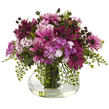 Large Mixed Daisy Arrangement - SKU #1353-PK
