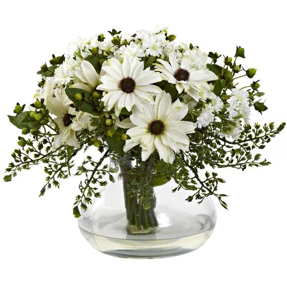 Large Mixed Daisy Arrangement - SKU #1353 - 1