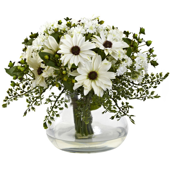 Large Mixed Daisy Arrangement - SKU #1353 - 1