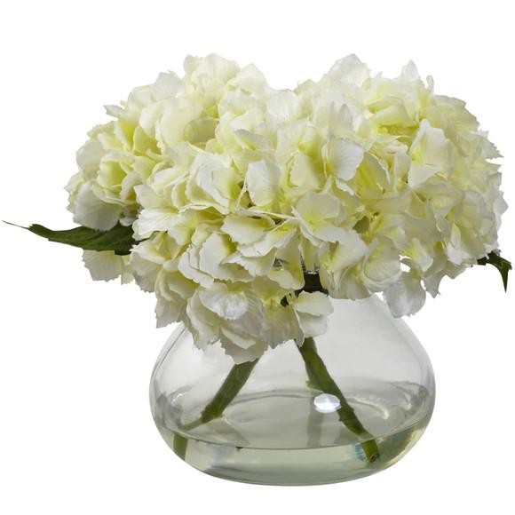 Blooming Hydrangea w/Vase - SKU #1356 - 2