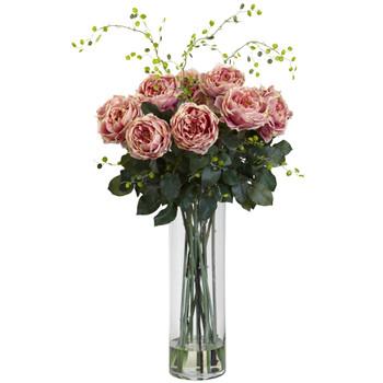 Giant Fancy Rose Willow Arrangement - SKU #1358