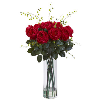 Giant Fancy Rose Willow Arrangement - SKU #1358