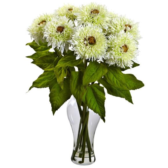 Sunflower Arrangement w/Vase - SKU #1360 - 2