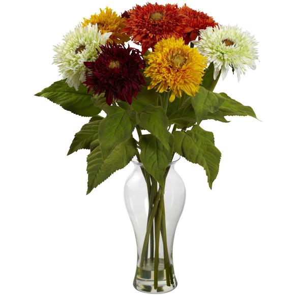 Sunflower Arrangement w/Vase - SKU #1360